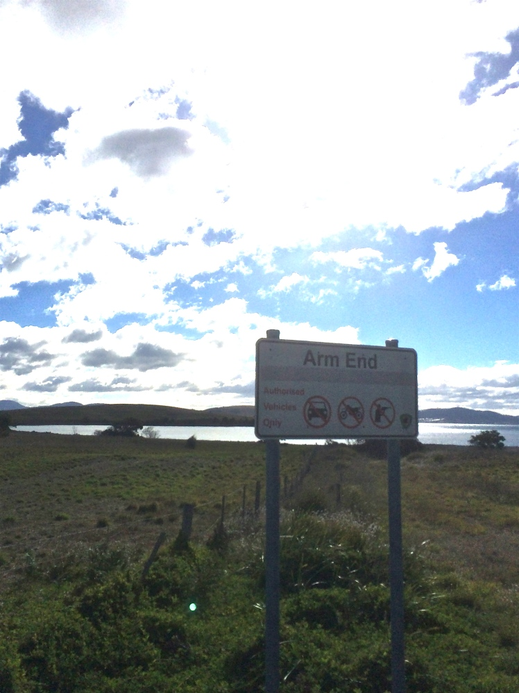 South Arm sign