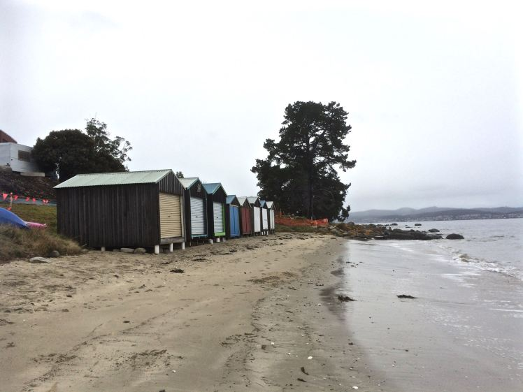 Beck's Beach boatsheds
