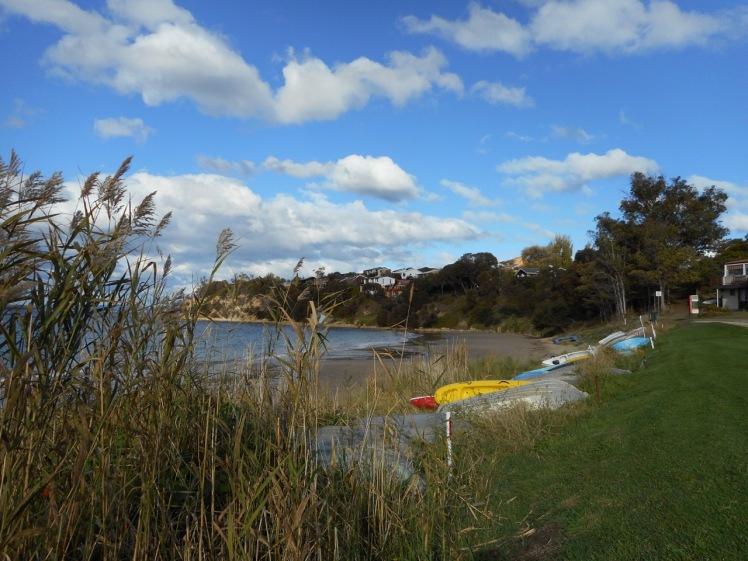 Dinghies at Blackmans Bay