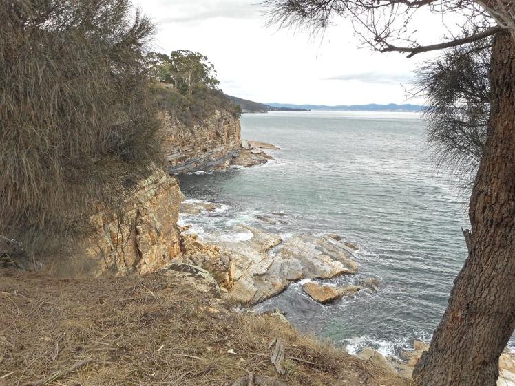 Looking north along Boronia Point